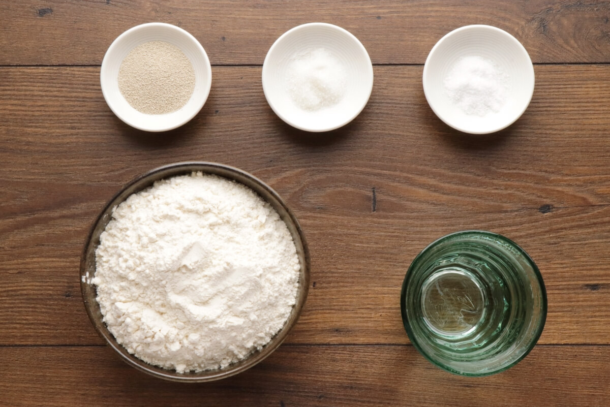 Ingridiens for The Easiest Homemade French Bread