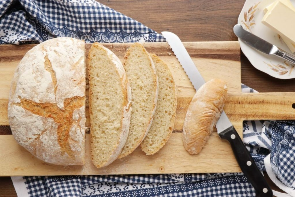 How to serve The Easiest Homemade French Bread