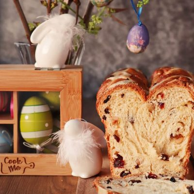 Hot Cross Bun Loaf Recipe-Easter Loaf-Bun Loaf-Easter Edible Gifts