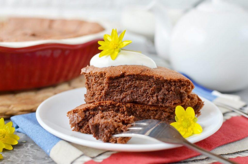 How to serve Keto Chocolate Soufflé