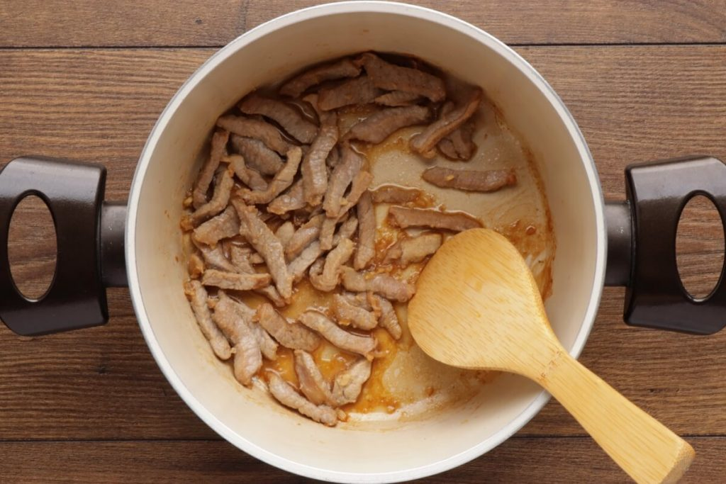 Korean Potato Soup with Beef – Gamjaguk recipe - step 2