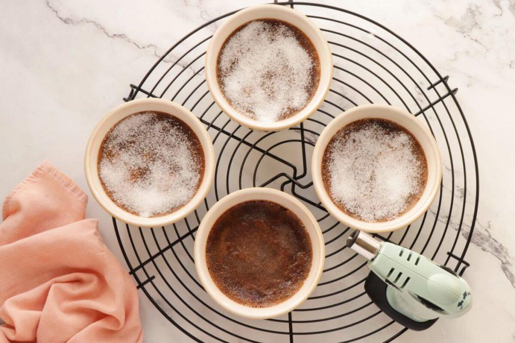 Low-Carb Chocolate Truffle Crème Brûlée recipe - step 10