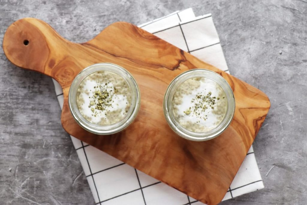 Matcha Latte Chia Pudding recipe - step 4