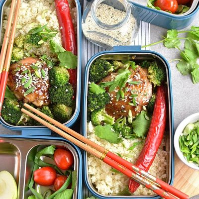 Meal-Prep Honey Sesame Chicken with Broccoli Recipes–Homemade Meal-Prep Honey Sesame Chicken with Broccoli–Eazy Meal-Prep Honey Sesame Chicken with Broccoli