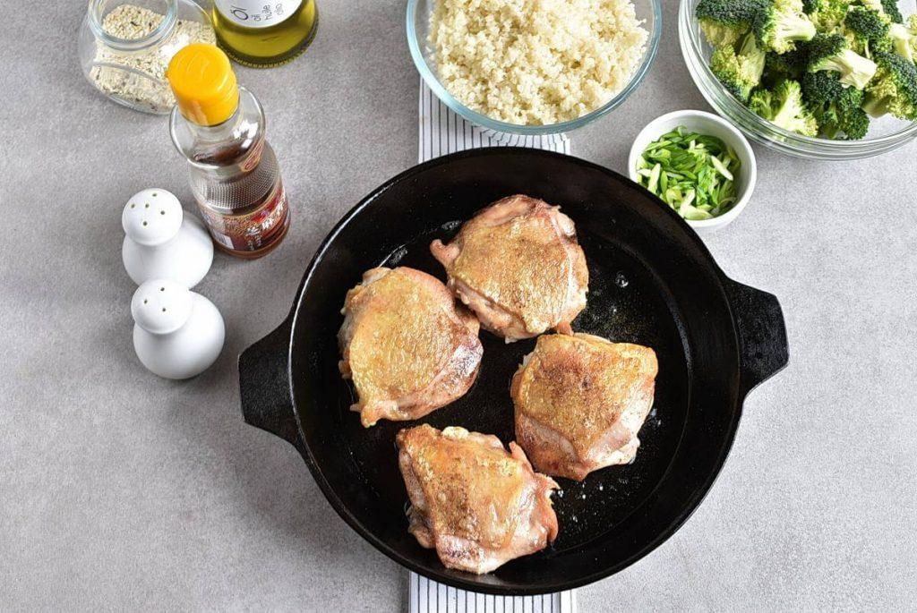 Meal-Prep Honey Sesame Chicken with Broccoli recipe - step 4