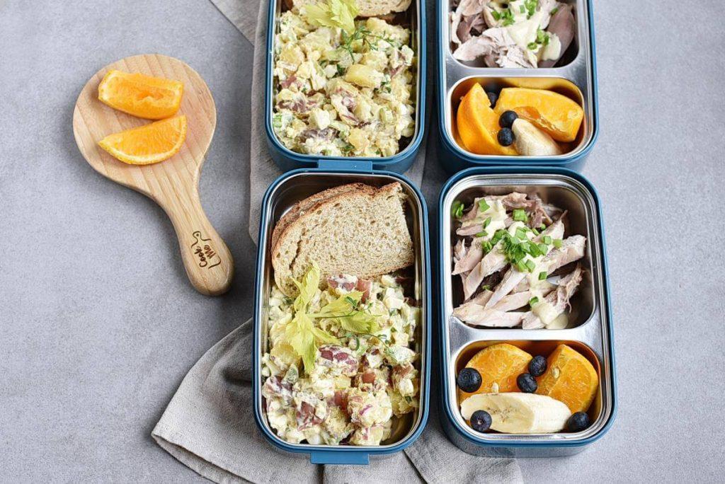 How to serve Meal-Prep Mayo-Less Potato Salad