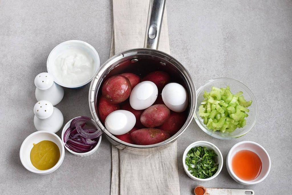 Meal-Prep Mayo-Less Potato Salad recipe - step 1