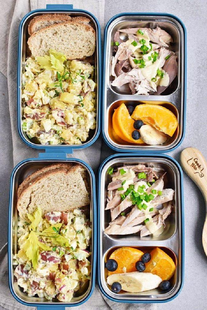 Meal-Prep Mayo-Less Potato Salad