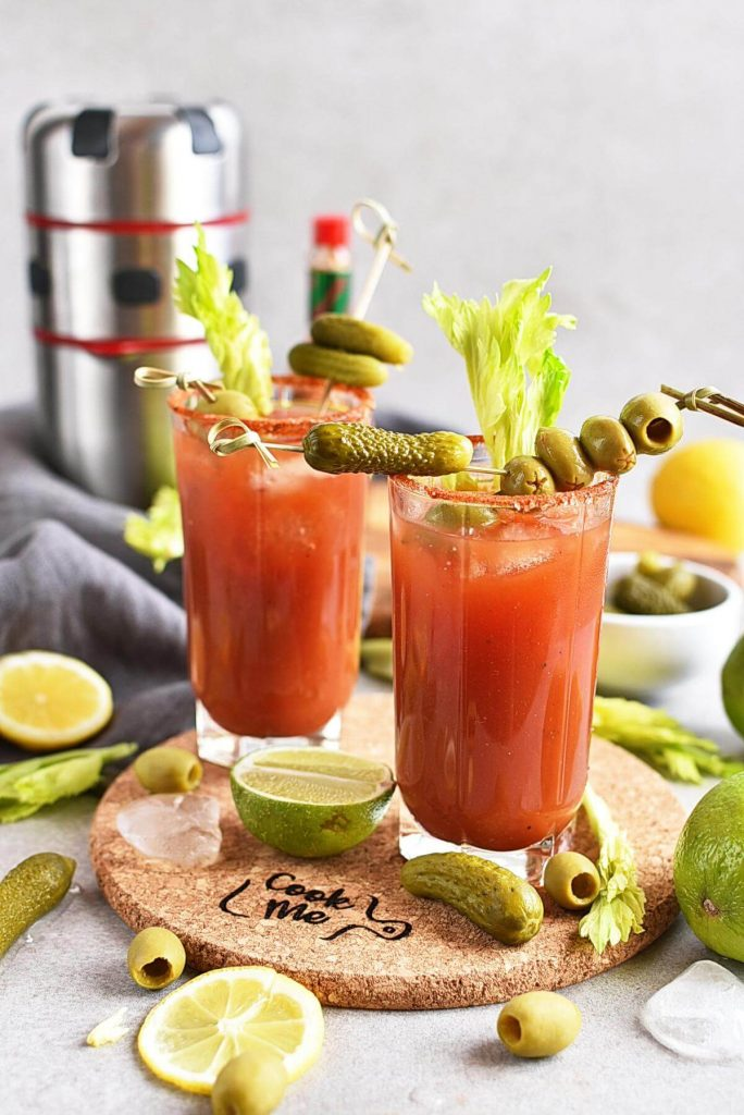 Mexican Bloody Maria Cocktail