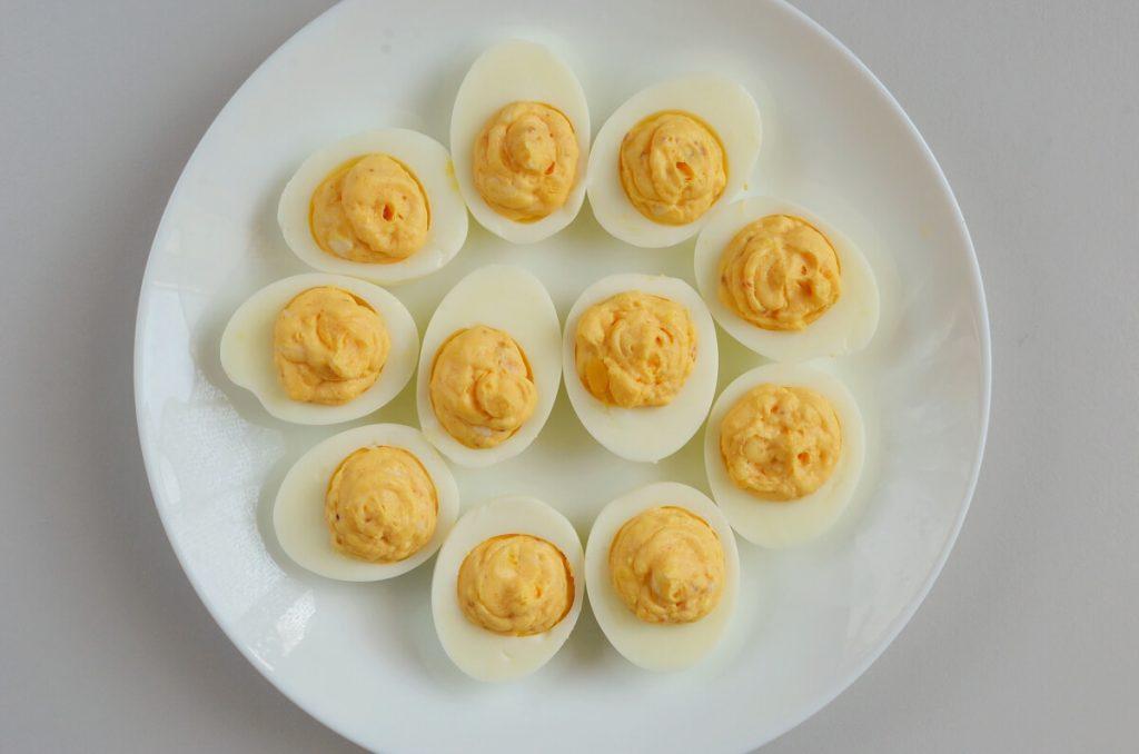 Mexican Street Corn Deviled Eggs recipe - step 5