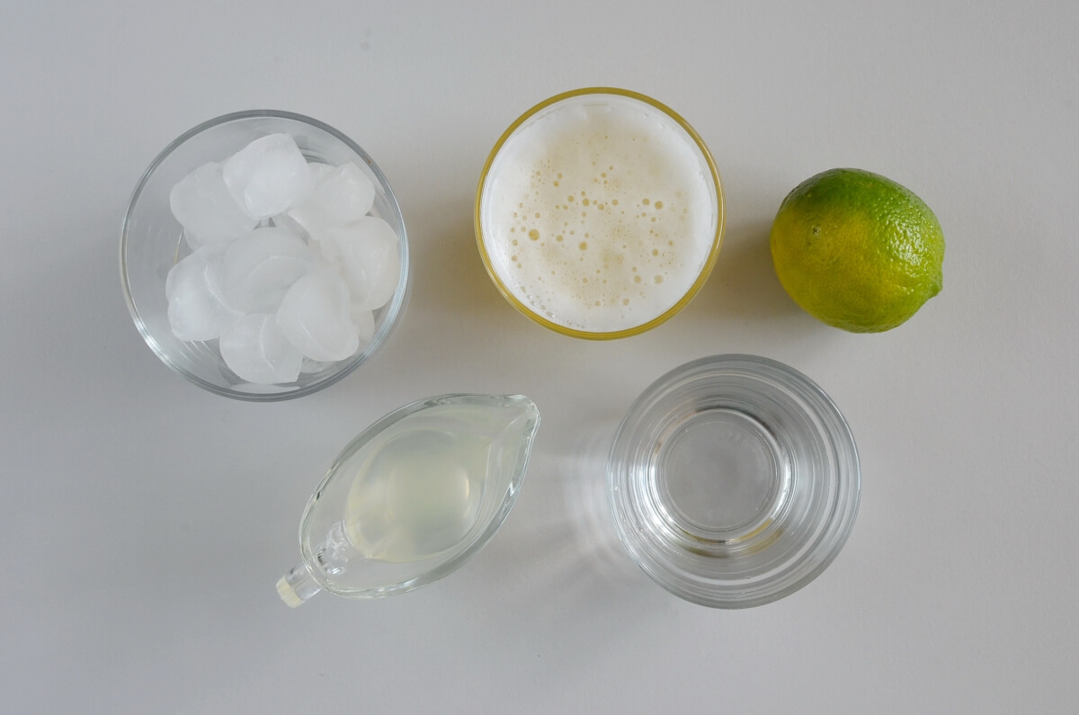 Ingridiens for Moscow Mule Cocktail