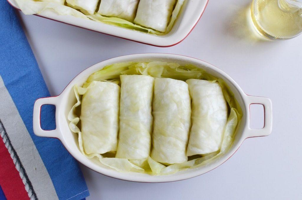 Mushroom Stuffed Vegan Cabbage Rolls recipe - step 11