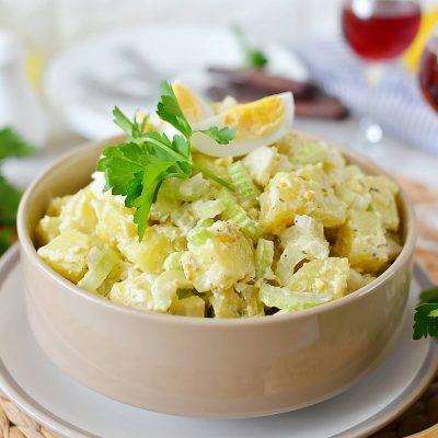 Old Fashioned Potato Salad Recipe-How To Make Old Fashioned Potato Salad-Delicious Old Fashioned Potato Salad