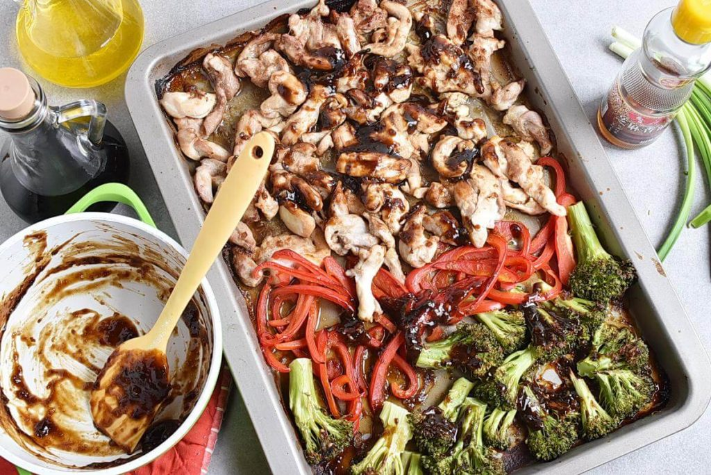 Sheet Pan Garlic Ginger Chicken & Broccoli recipe - step 7