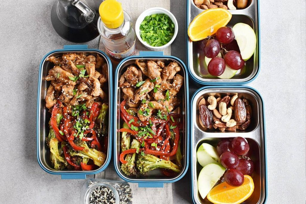 How to serve Sheet Pan Garlic Ginger Chicken & Broccoli