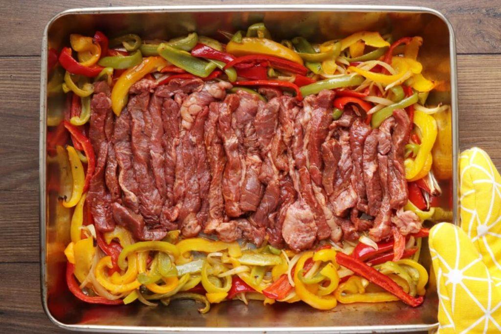 Sheet Pan Steak Fajitas recipe - step 6