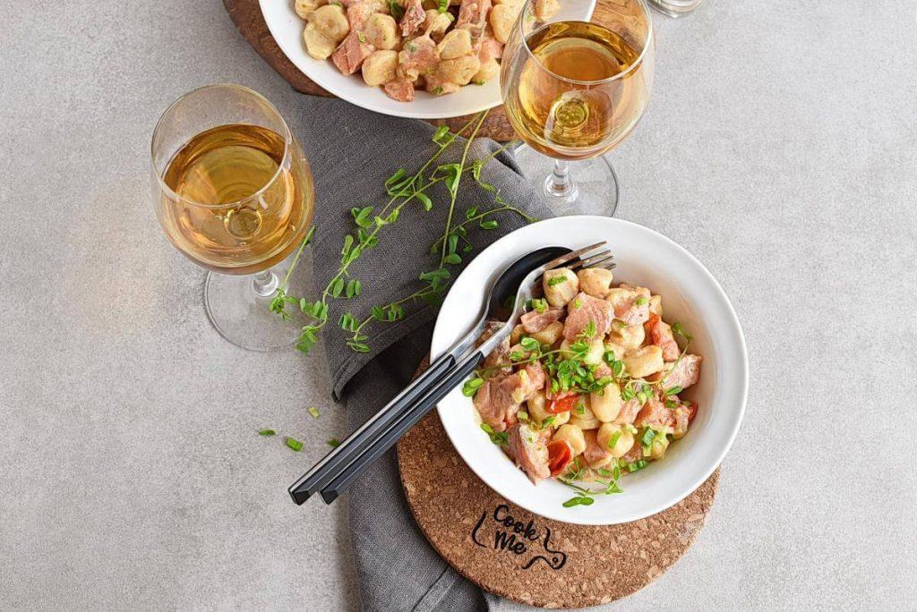 How to serve Smoked Salmon and Vodka Gnocchi