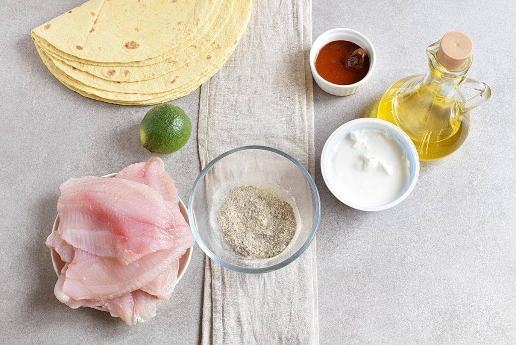 Tilapia Fish Tacos recipe - step 1