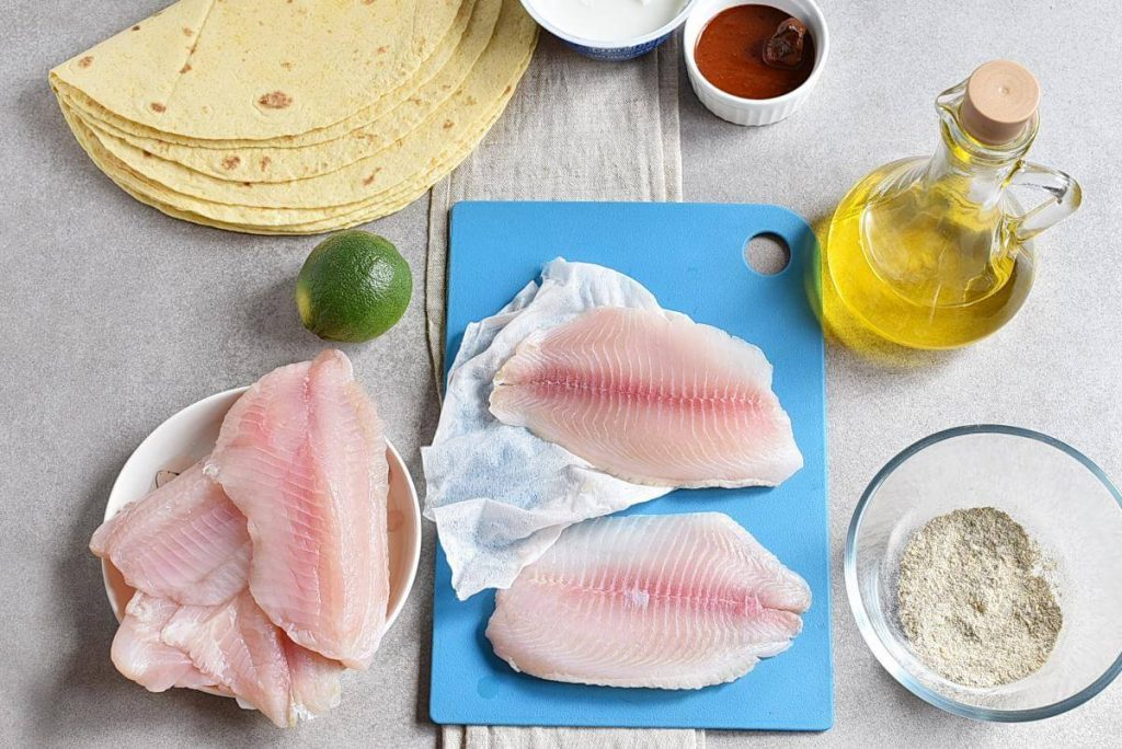 Tilapia Fish Tacos recipe - step 2
