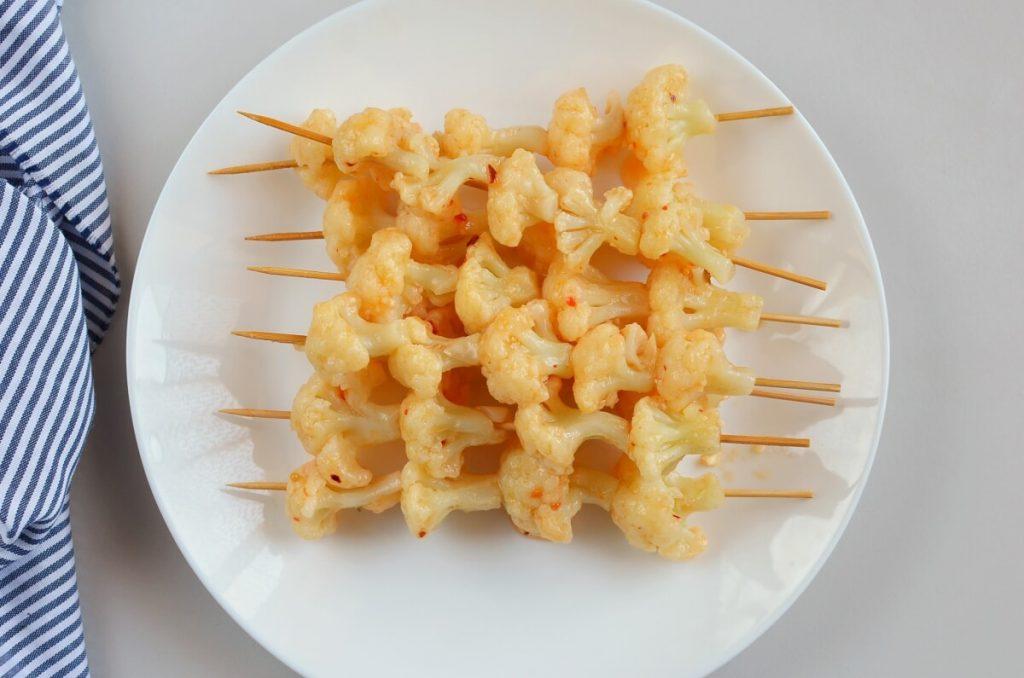 Bang Bang Cauliflower Kebabs recipe - step 6
