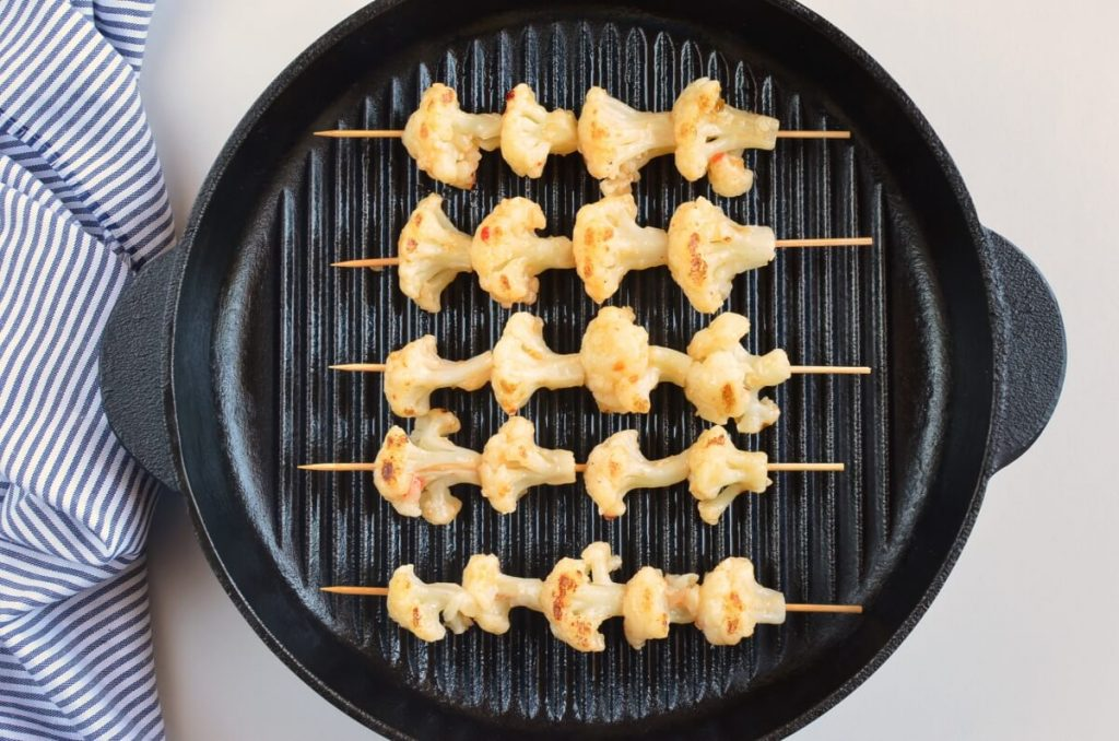 Bang Bang Cauliflower Kebabs recipe - step 7