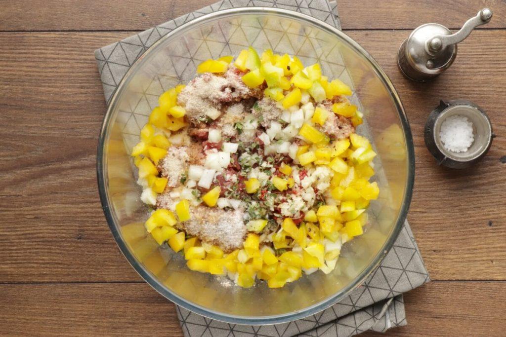 Bell Pepper Mini Meatloaf recipe - step 3