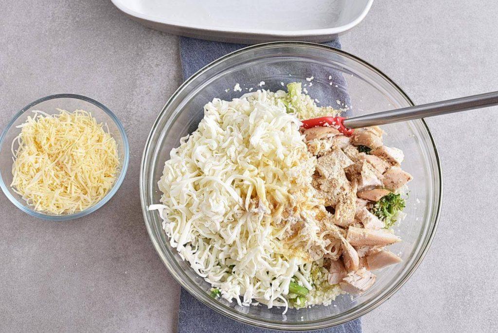 Broccoli Cauliflower Rice Chicken Casserole recipe - step 5