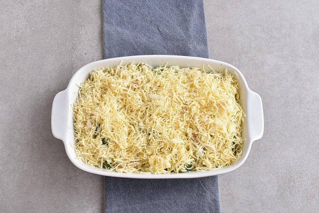 Broccoli Cauliflower Rice Chicken Casserole recipe - step 6