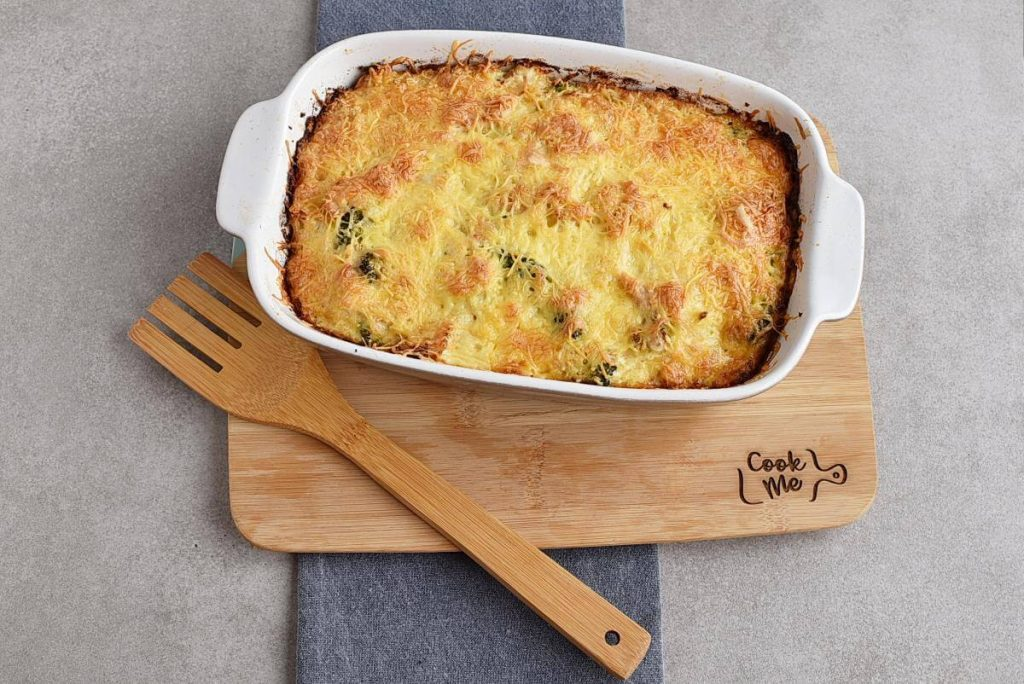 Broccoli Cauliflower Rice Chicken Casserole recipe - step 7