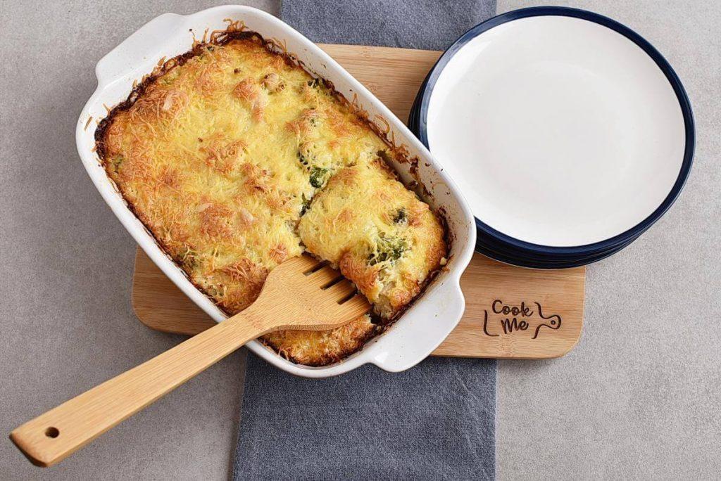 How to serve Broccoli Cauliflower Rice Chicken Casserole