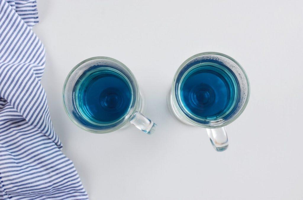 Butterfly Pea Flower Tea Latte recipe - step 5