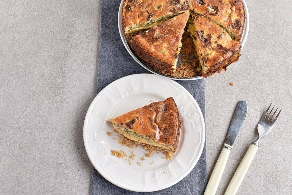 How to serve Cheddar-Veggie Appetizer Torte