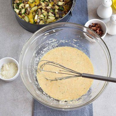 Cheddar-Veggie Appetizer Torte recipe - step 4