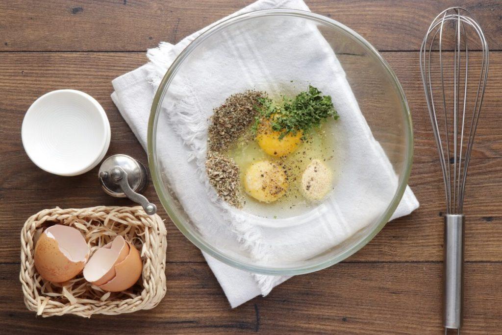 Cheesy Zucchini Quiche recipe - step 4