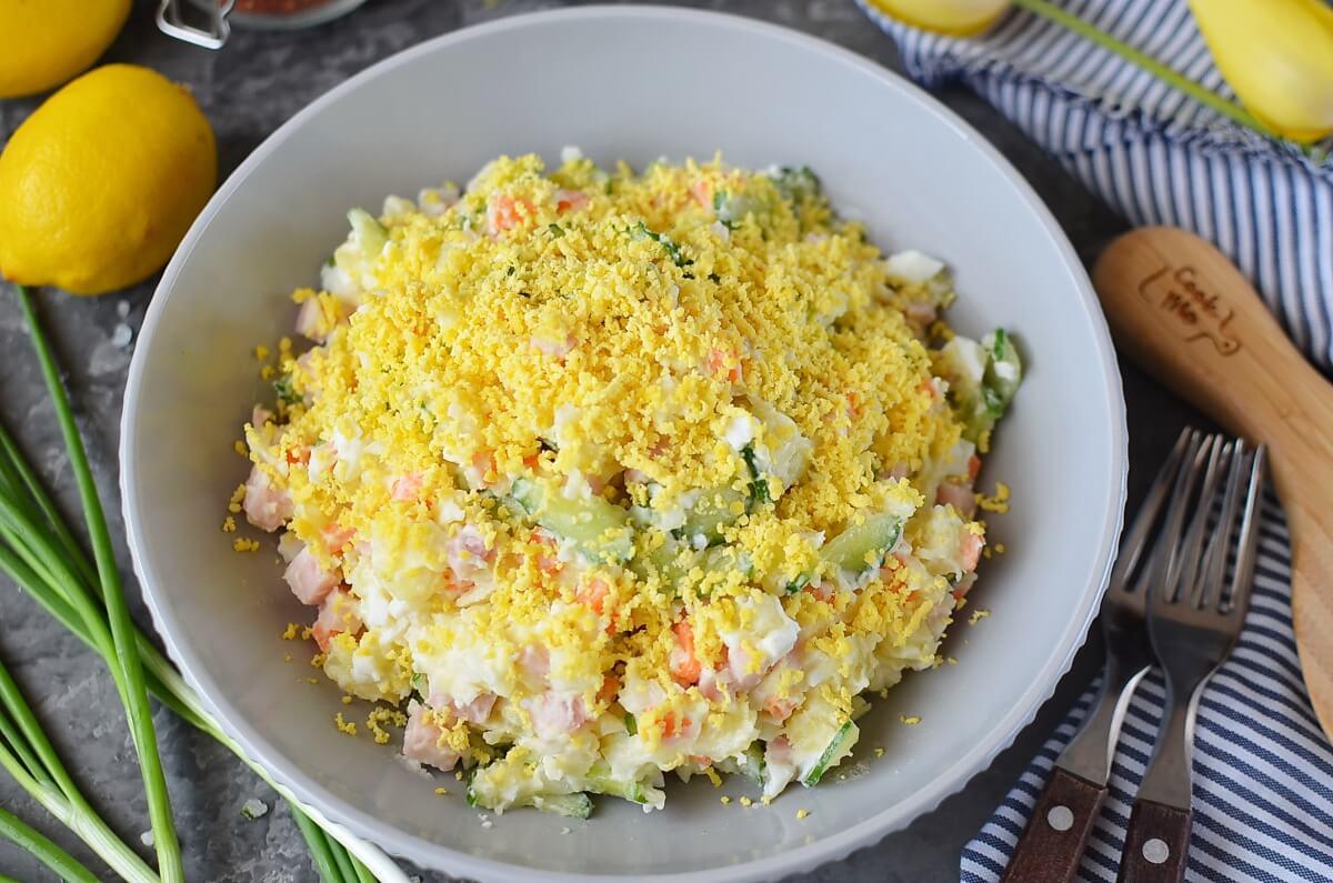 Creamy Korean Potato Salad Recipe-How To Make Creamy Korean Potato Salad-Delicious Creamy Korean Potato Salad