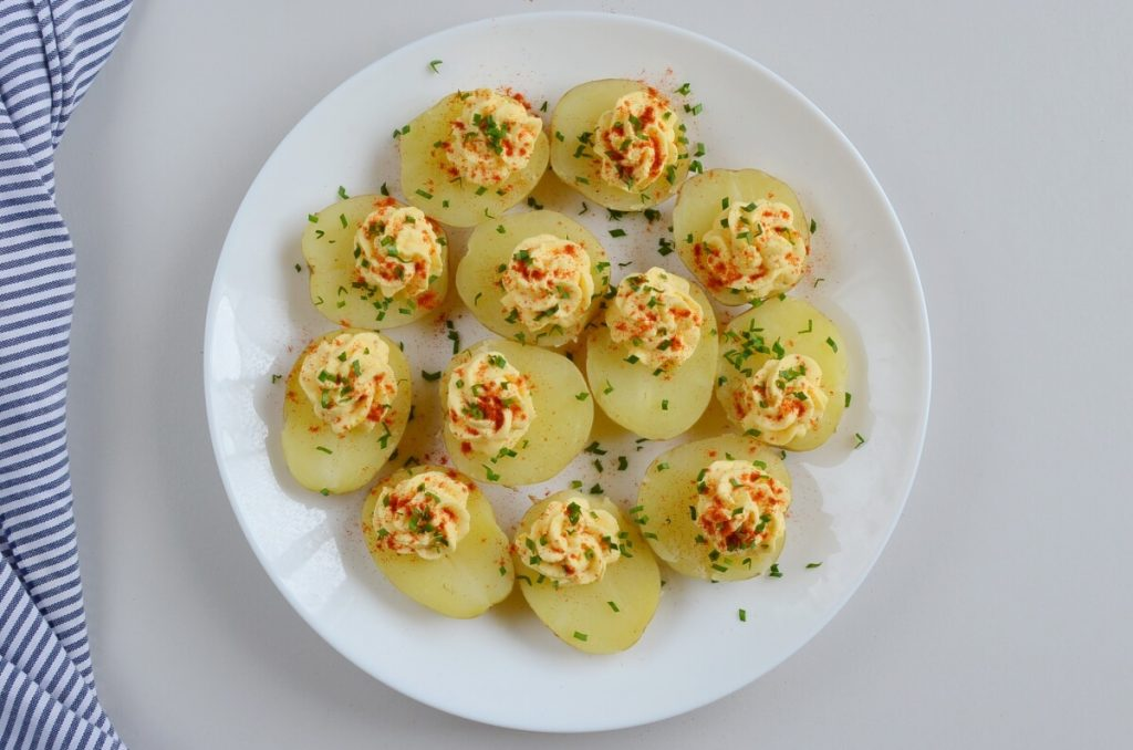 How to serve Deviled Potatoes