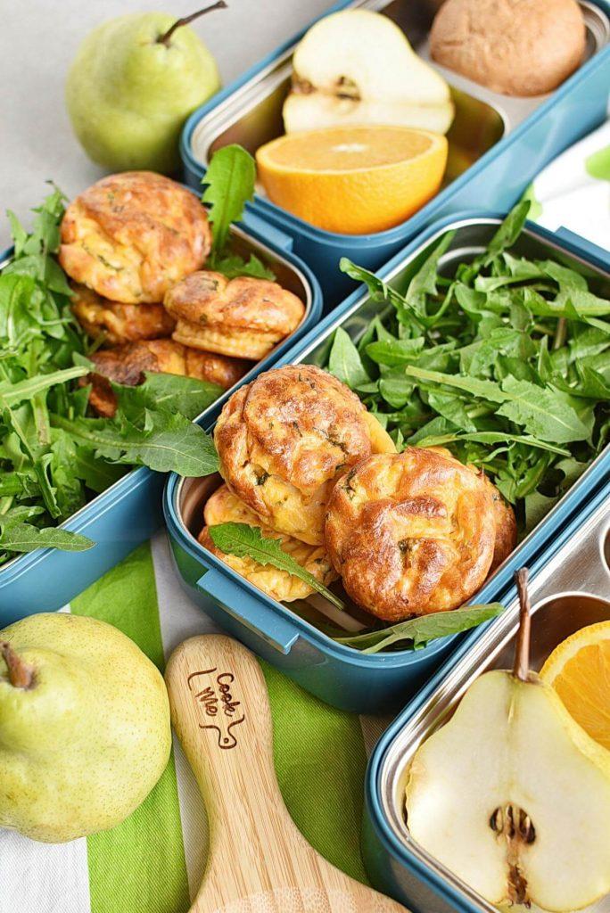 Keto Lunch Box Mini Quiches