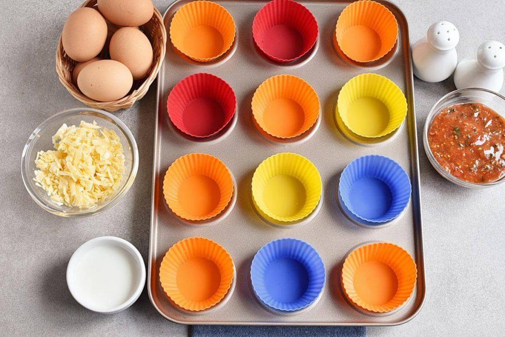 Keto Lunch Box Mini Quiches recipe - step 1