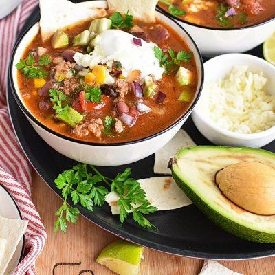 Easy Taco Soup Recipes–Homemade Easy Taco Soup– Delicious Easy Taco Soup