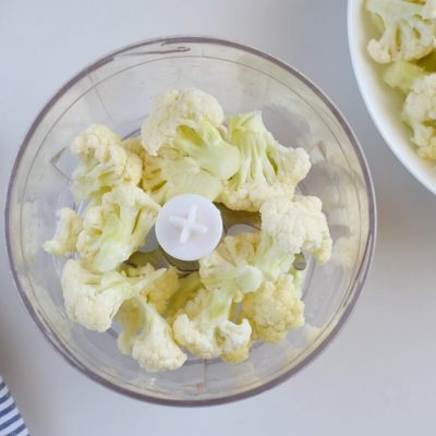 Healthy Cauliflower Rice recipe - step 1