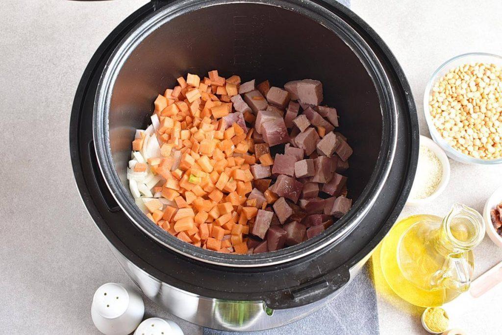 Instant Pot Split Pea Soup recipe - step 1