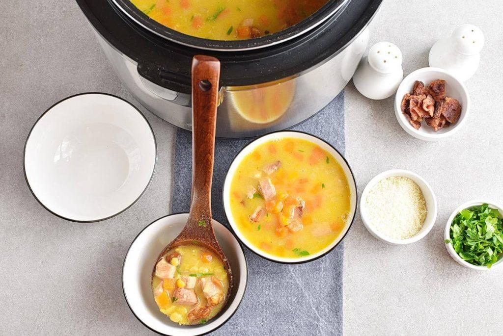 How to serve Instant Pot Split Pea Soup