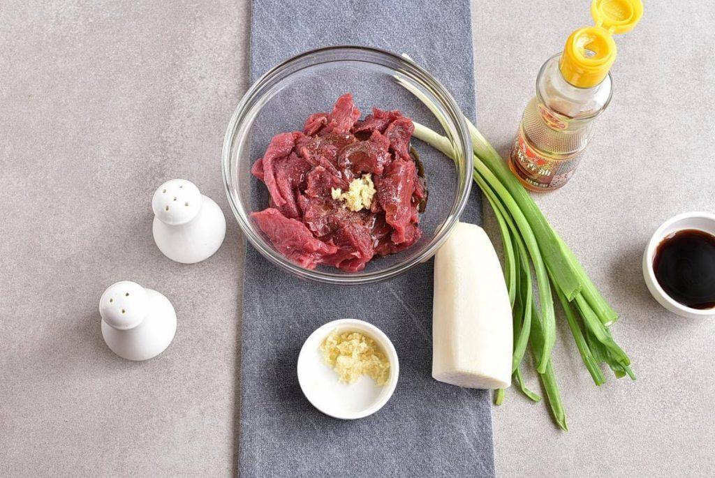 Korean Beef & Radish Soup – Soegogi Muguk recipe - step 1