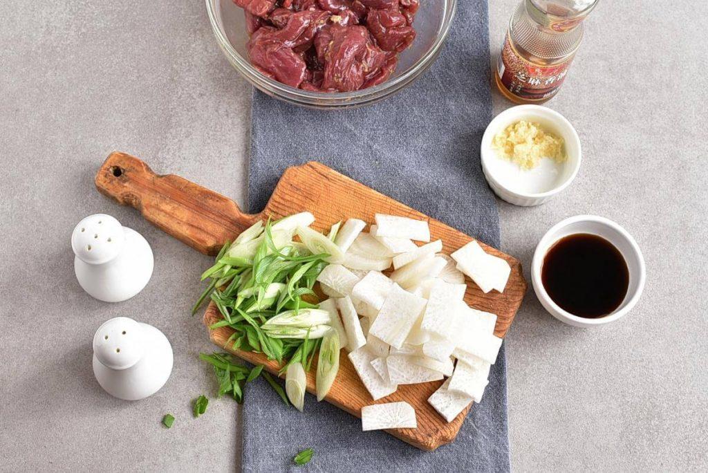 Korean Beef & Radish Soup – Soegogi Muguk recipe - step 2