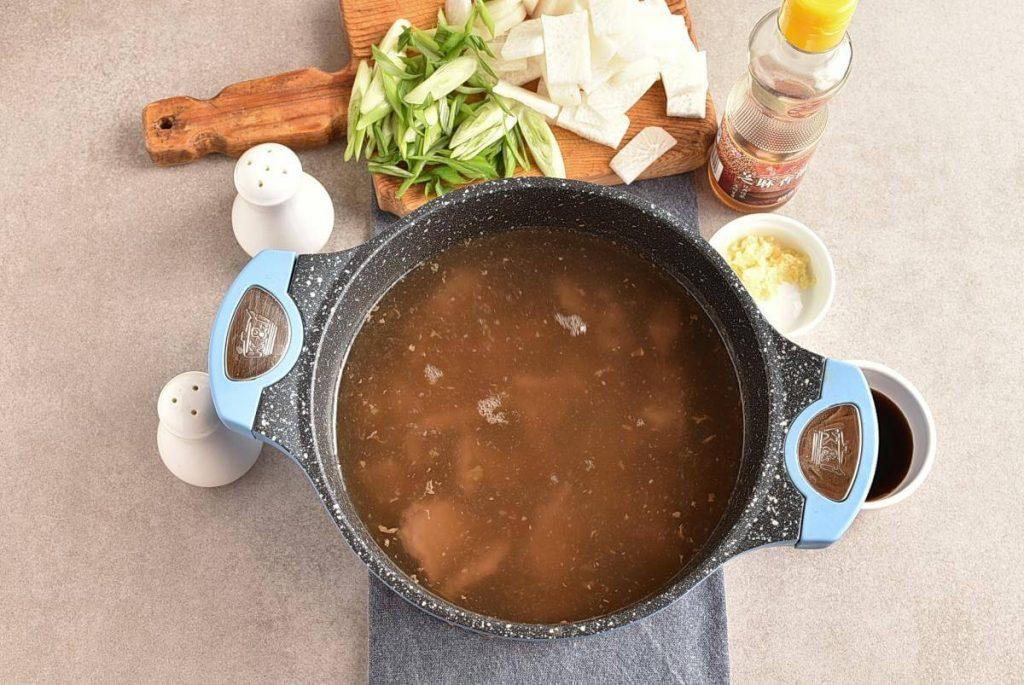 Korean Beef & Radish Soup – Soegogi Muguk recipe - step 4