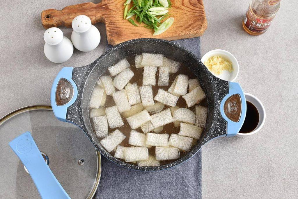Korean Beef & Radish Soup – Soegogi Muguk recipe - step 5