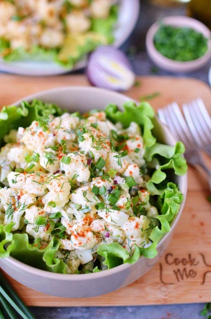 Delicious healthy take on potato salad