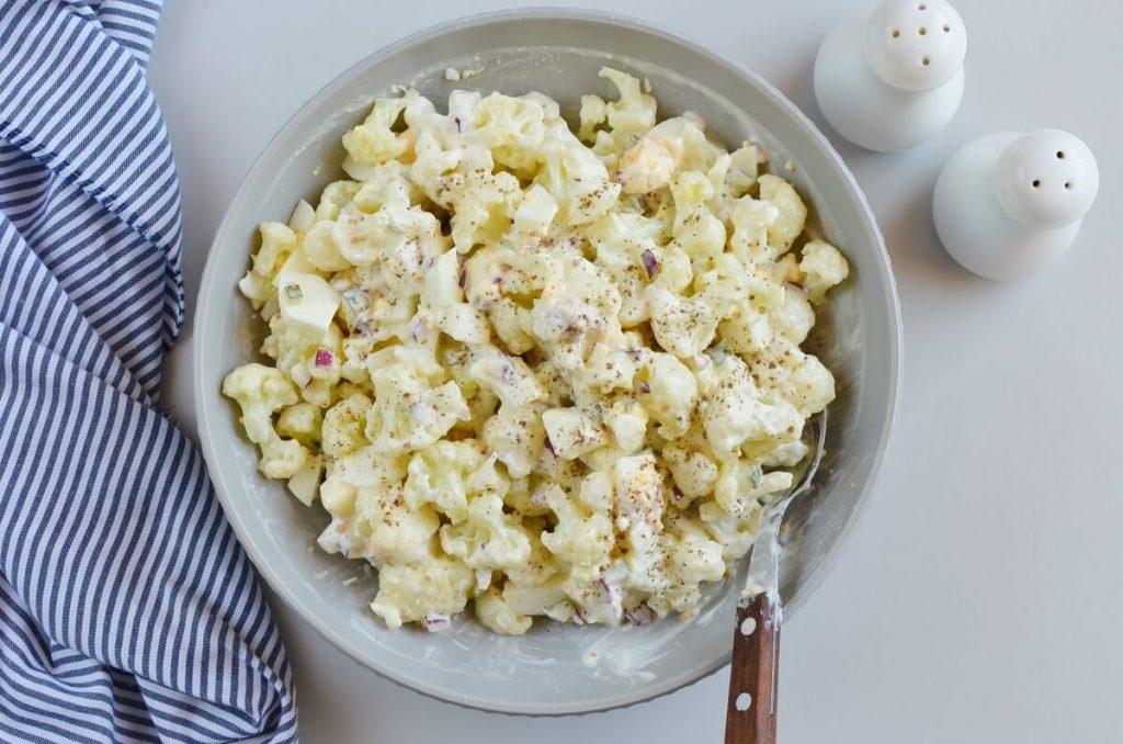 "Low-Carb Cauliflower ""Potato"" Salad recipe - step 4"
