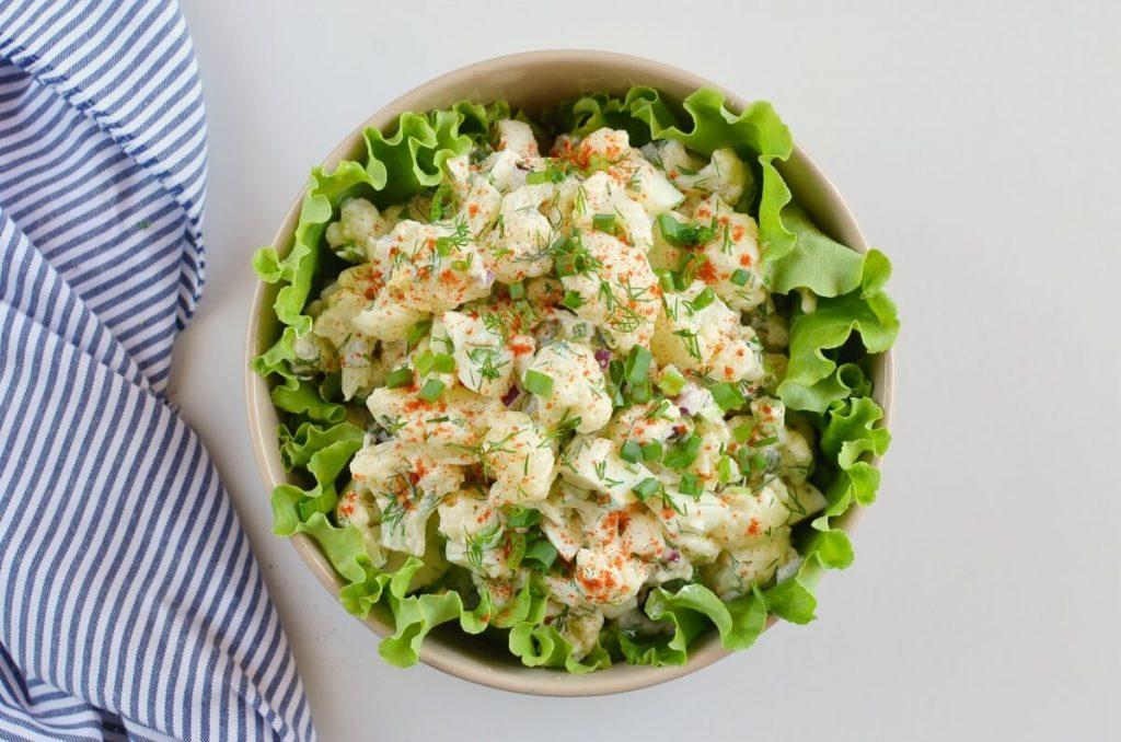 "Low-Carb Cauliflower ""Potato"" Salad recipe - step 7"