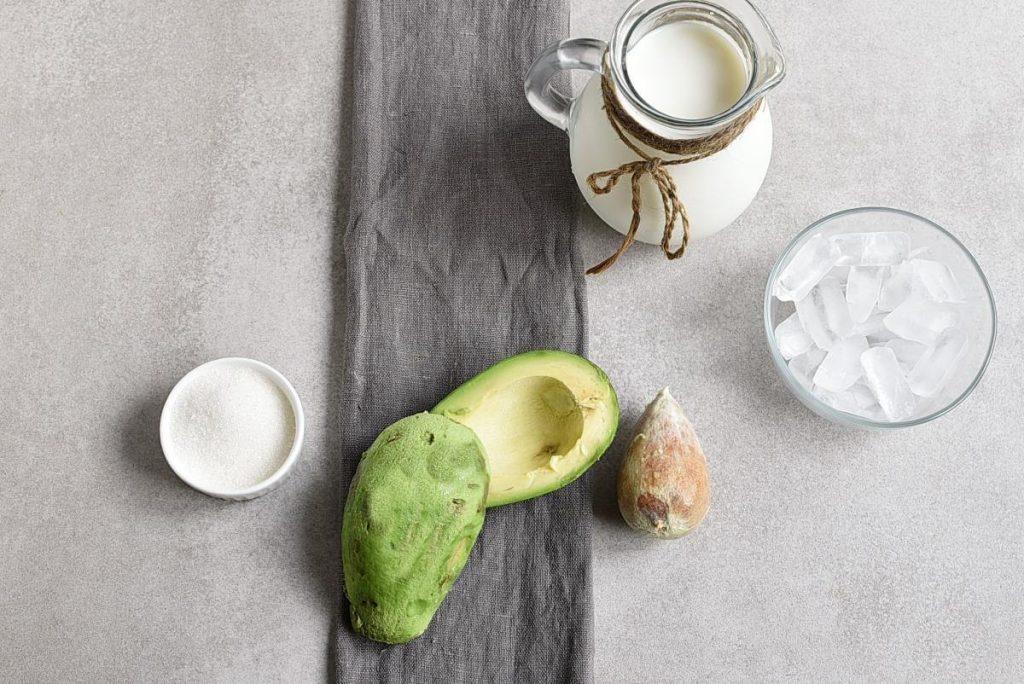 Moroccan Avocado Smoothie recipe - step 1